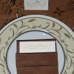 Custom Linens and Table Settings